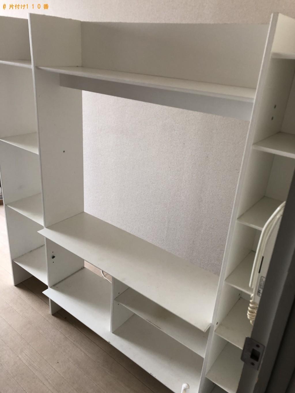 【大阪市西区】シングルベッド、洗濯機、本棚の回収・処分 お客様の声