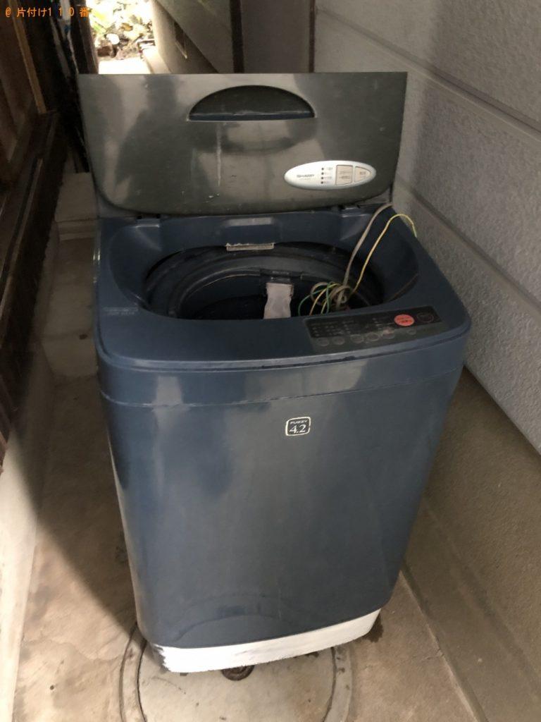 【北九州市小倉北区】洗濯機1点の回収・処分 お客様の声