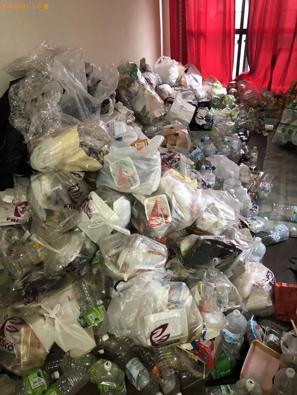 【京都市東山区】大量の家庭ごみ、カーテン、布団の回収・処分 お客様の声