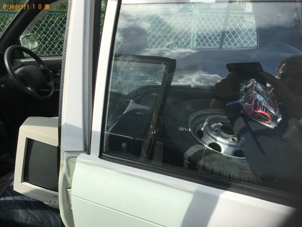 【一関市宮前町】掃除機、自動車タイヤ、CRTモニター等の回収・処分 お客様の声