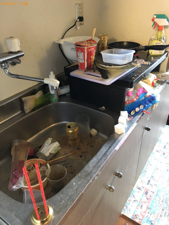 【北九州市小倉北区】家庭ゴミ回収と片付け・掃除のご依頼 お客様の声