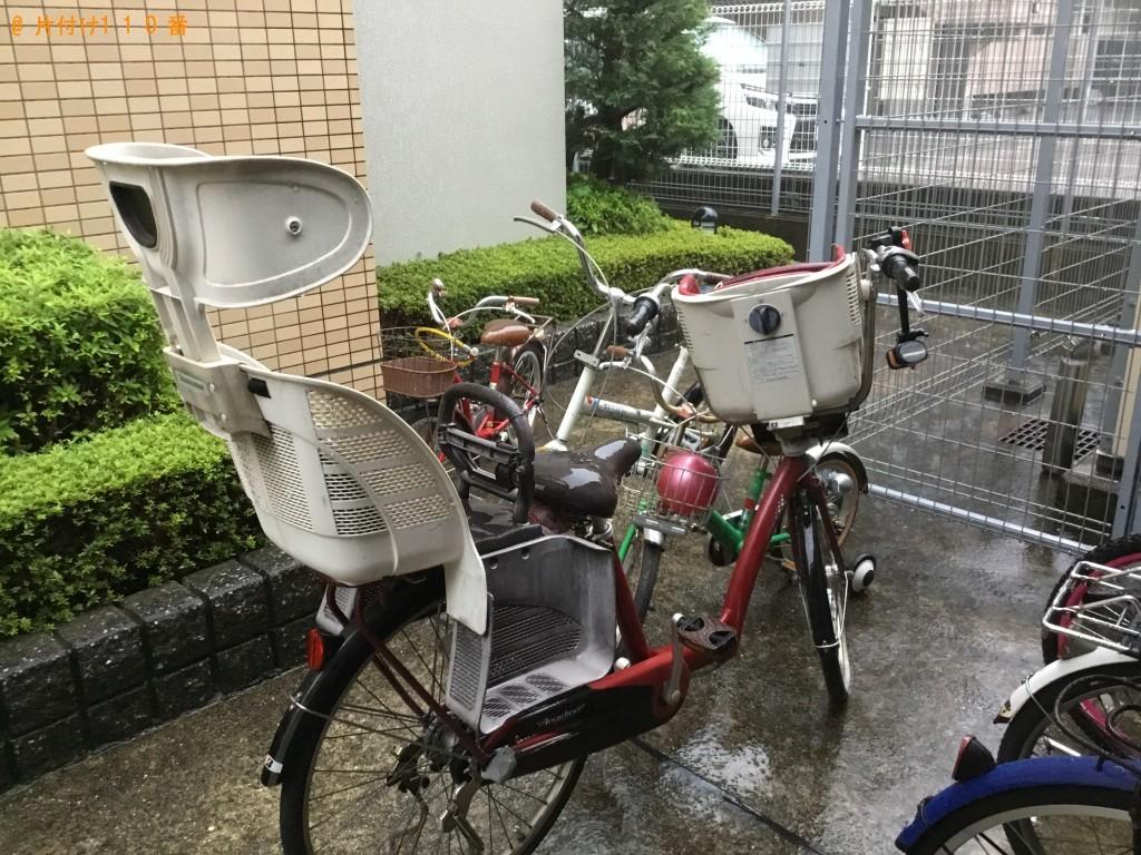 【尼崎市】放置自転車7台の回収・処分 お客様の声