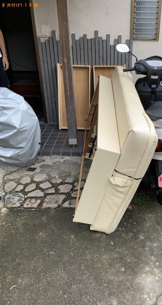 【京都市西京区】ソファー1点の回収・処分 お客様の声