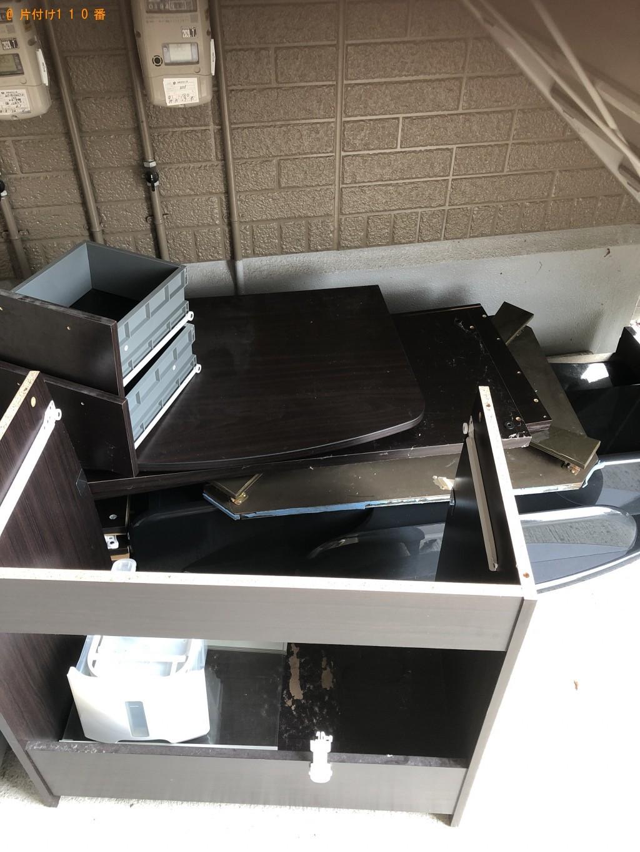 【山形市】洗濯機、セミダブルベッド、セミダブルマットレスの回収・処分 お客様の声