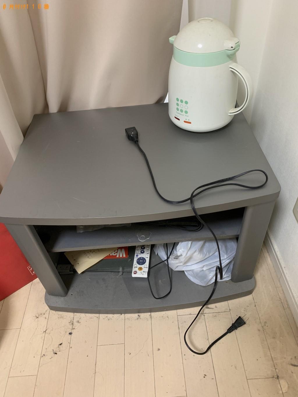 【北九州市若松区】PC、テレビ台、電気ケトルの回収・処分 お客様の声