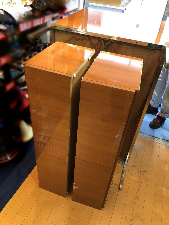 【京都市中京区】ガラス戸棚、大型テーブル処分ご依頼 法人様の声