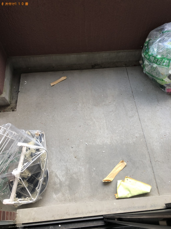 【京都市上京区】布団、回転イス、ハンガーラックの回収・処分 お客様の声