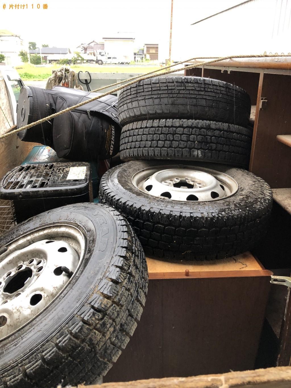 【栗東市】2トントラック1台分の不用品回収ご依頼 お客様の声