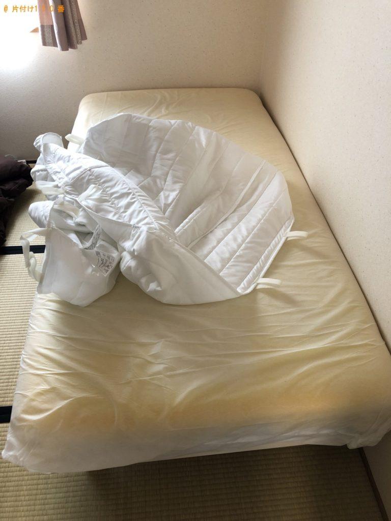 【栗東市】脚付きシングルベッドマットレスの回収・処分 お客様の声