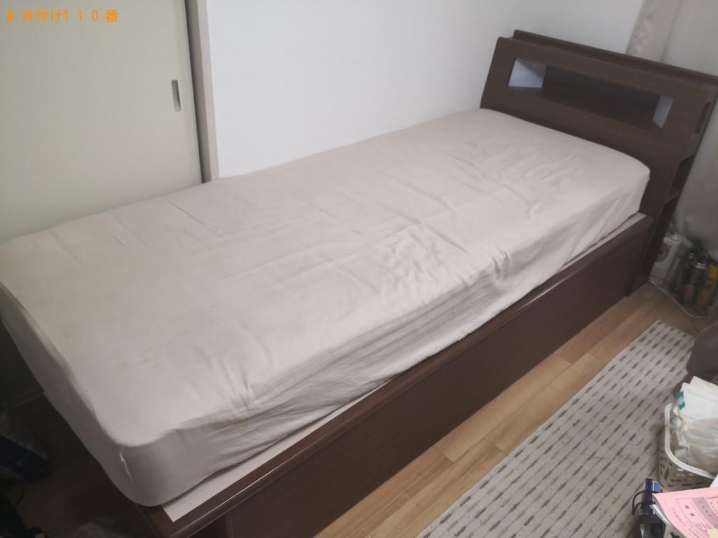 【守口市八島町】セミシングルベッド1点の回収・処分 お客様の声