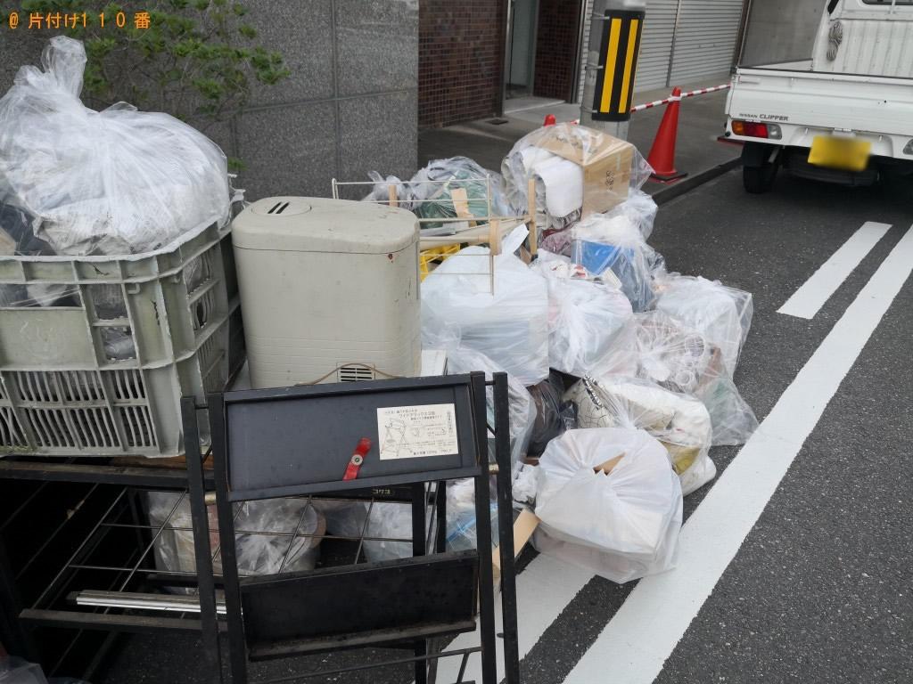 【大阪市北区】大掃除で出た不用品処分ご依頼 お客様の声