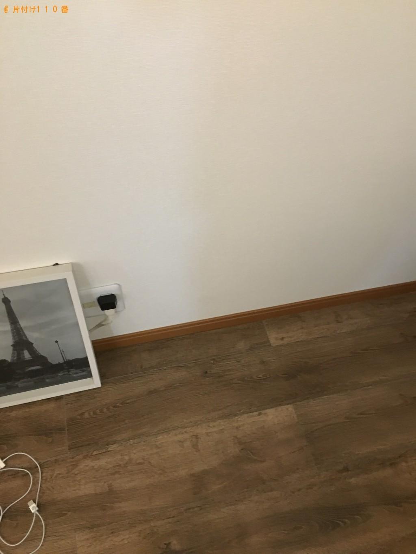 【北九州市小倉北区】シングルベッド、テレビ台、掃除機の回収・処分 お客様の声