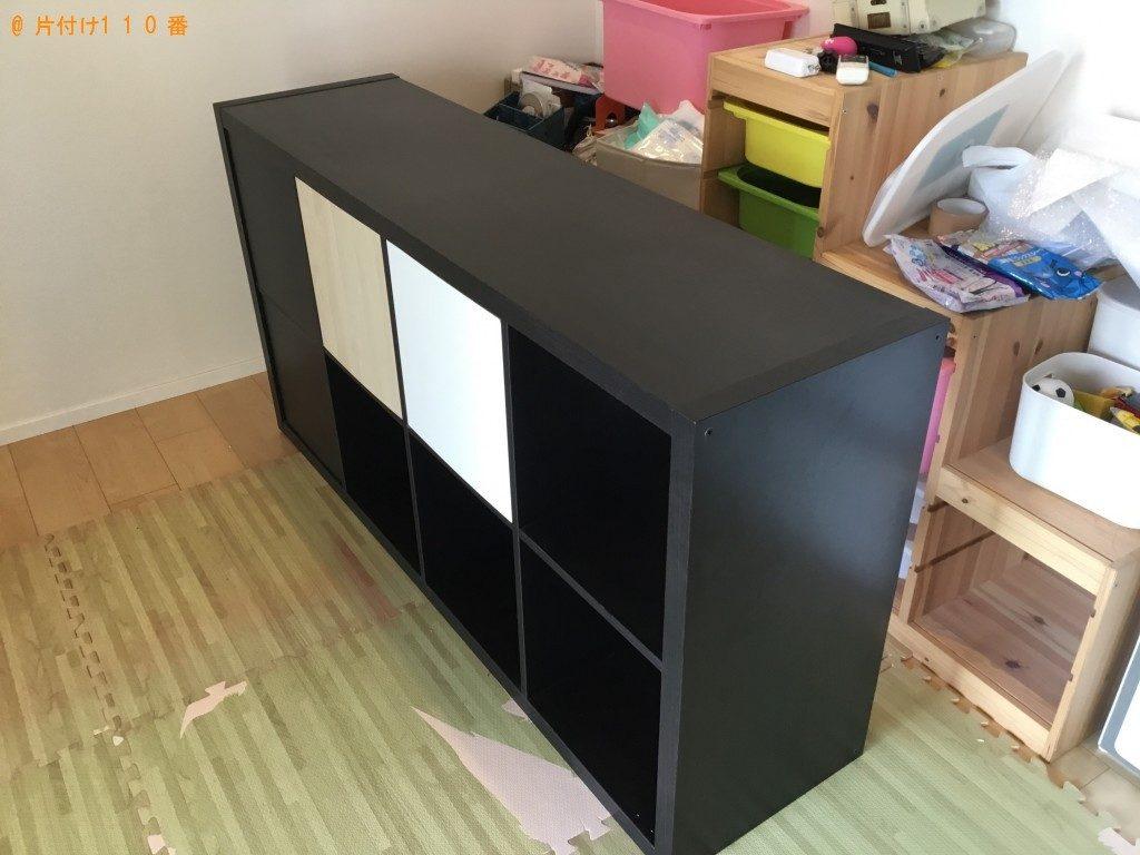 【神戸市中央区】収納棚の回収・処分 お客様の声