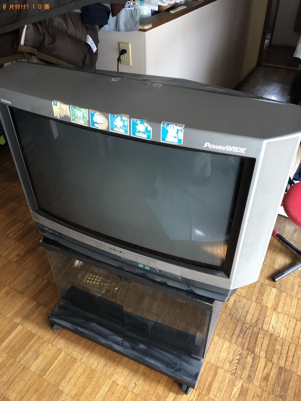 【京都市伏見区】テレビとモニターの回収・処分 お客様の声