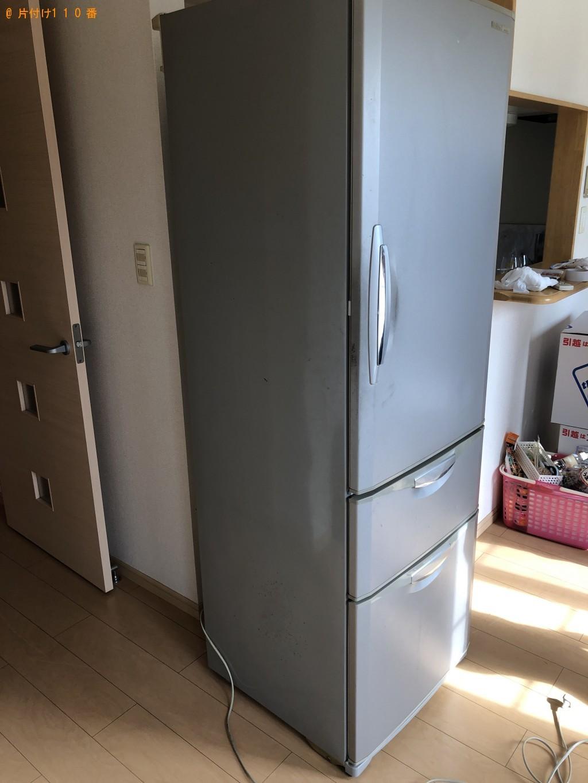 【北九州市小倉南区】冷蔵庫、セミダブルベッド、ソファー等の回収・処分 お客様の声
