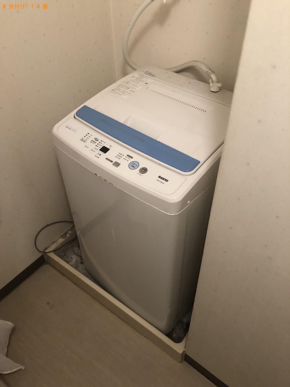 【山口市】エアコン、洗濯機、収納棚の回収・処分 お客様の声
