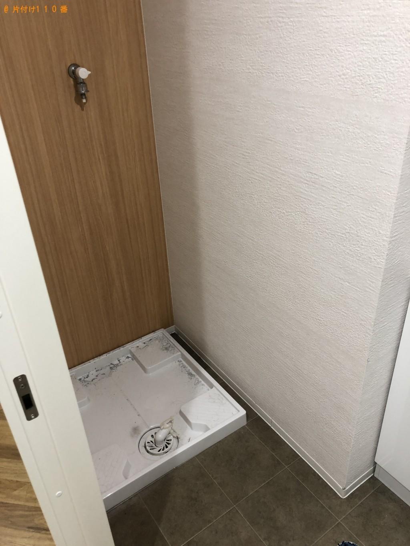 【大分市】折り畳みベッド、冷蔵庫、洗濯機等の回収・処分 お客様の声