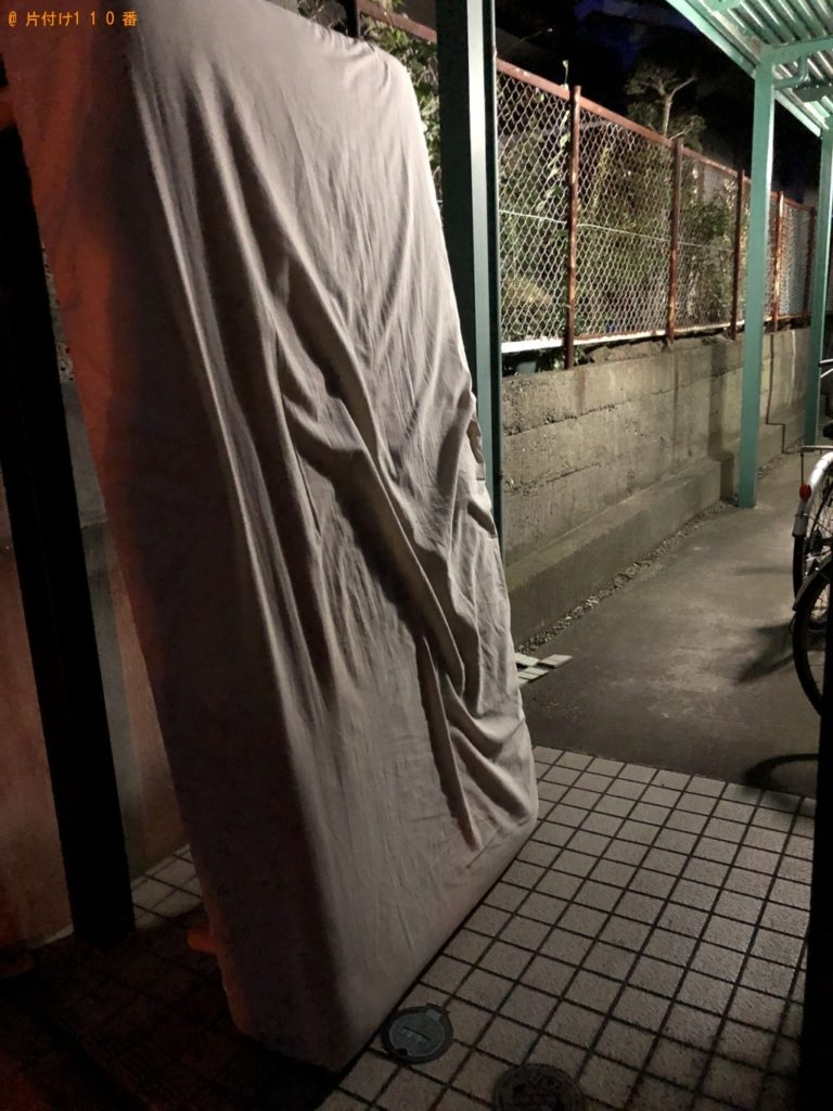 【千葉市中央区】シングルベッドマットレス1点の回収・処分 お客様の声