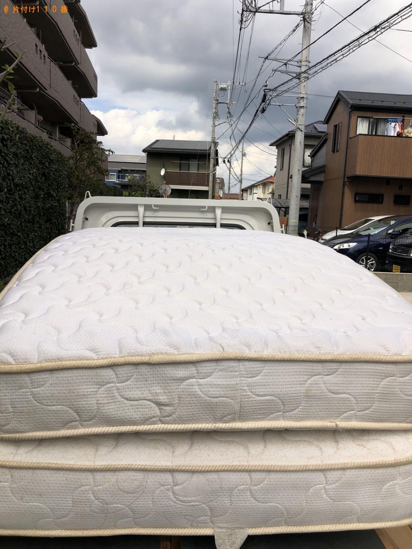 【船橋市】シングルベッド1点の回収・処分 お客様の声