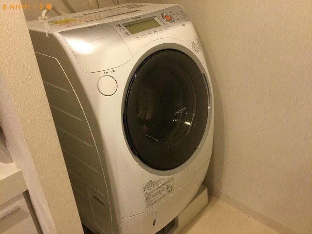 【神戸市中央区】ドラム式洗濯機1点の回収・処分 お客様の声