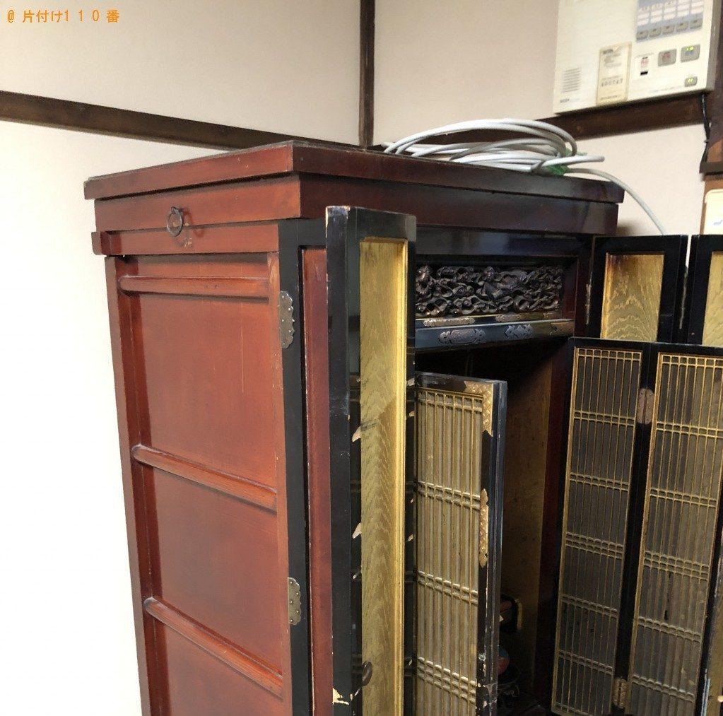 【京都市北区】仏壇とお位牌の回収・処分 お客様の声
