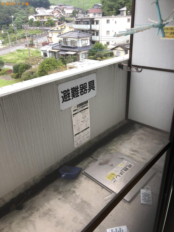 【大分市】洗濯機と物干しざおの回収・処分 お客様の声
