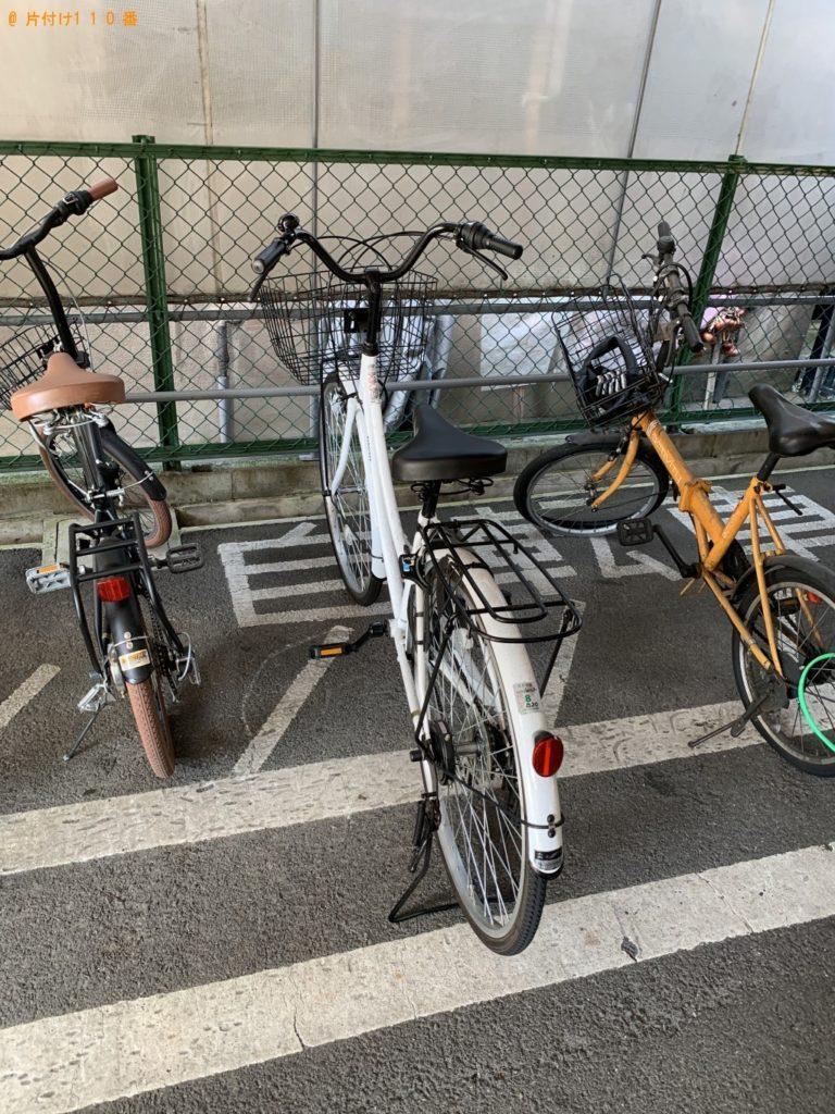 【大津市】自転車1点の回収・処分 お客様の声