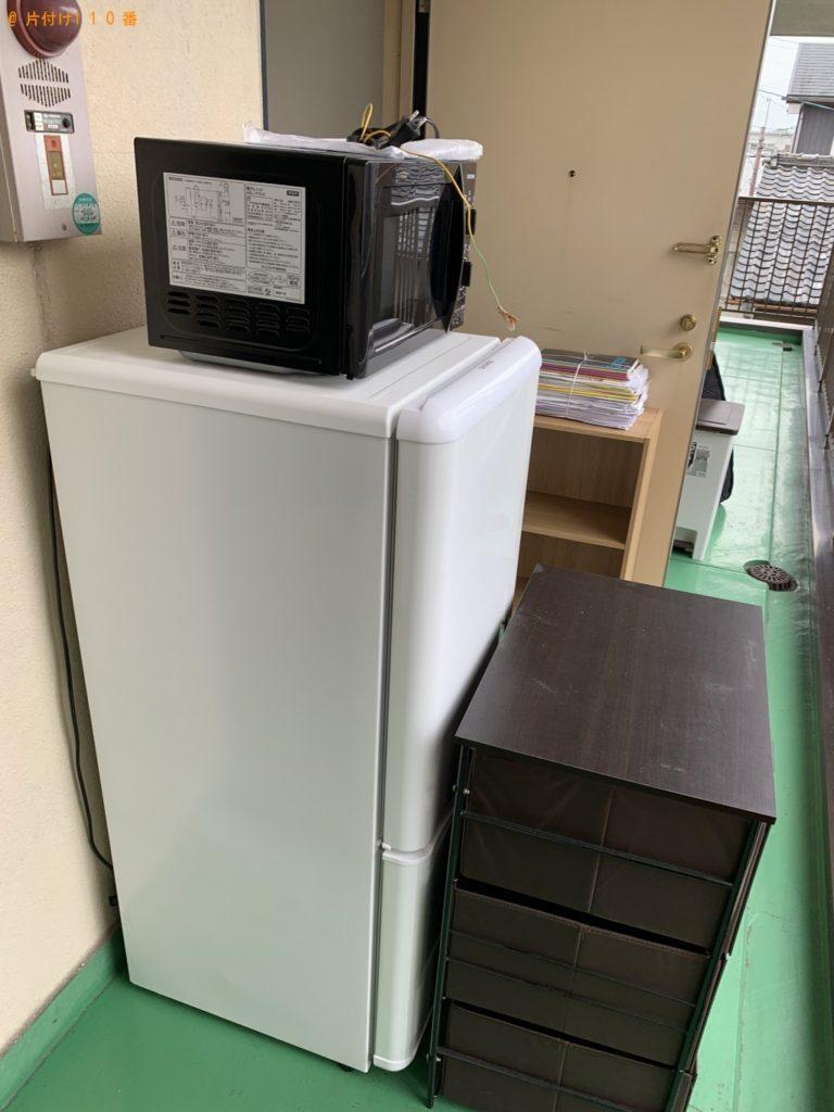 【草津市】シングルベッド、冷蔵庫、洗濯機等の回収・処分 お客様の声