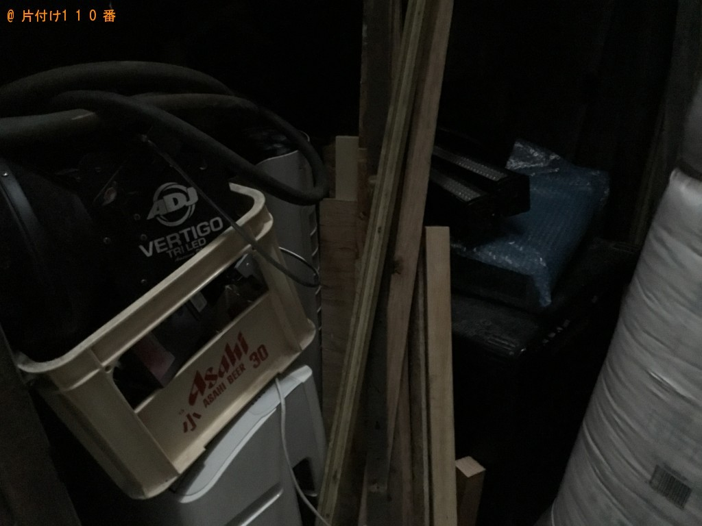 【尼崎市】建築資材、アンプ、扇風機等の回収・処分 お客様の声