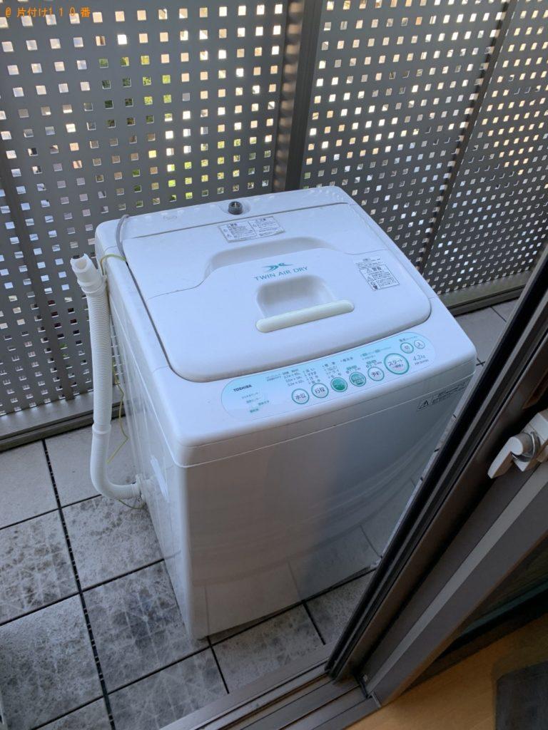 【宇治市槇島町】洗濯機1点の回収・処分 お客様の声