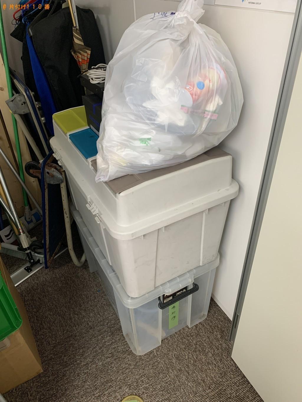 【福岡市博多区】収納ケース、ポリタンク、ポリッシャー等の回収・処分 お客様の声