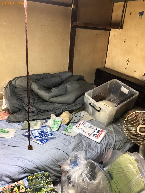 【北九州市八幡西区】シングルベッド、飾り棚、テレビ等の回収・処分 お客様の声
