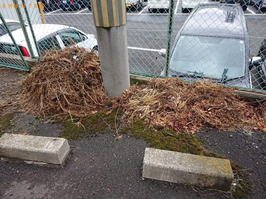 【舞鶴市】草刈で出た草の回収・処分 お客様の声