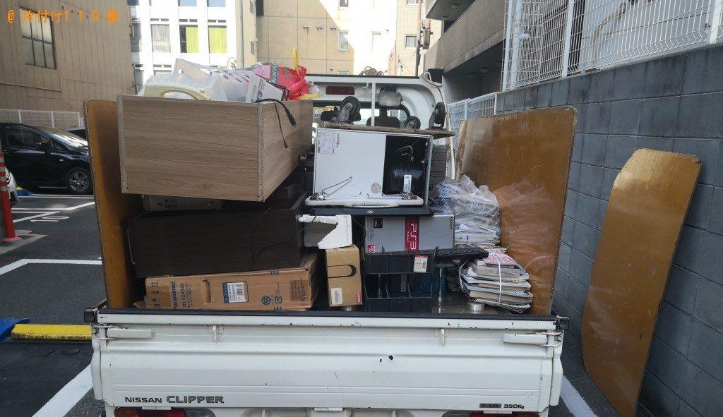 【大阪市浪速区】冷蔵庫、、ソファー、テレビ等の回収・処分 お客様の声