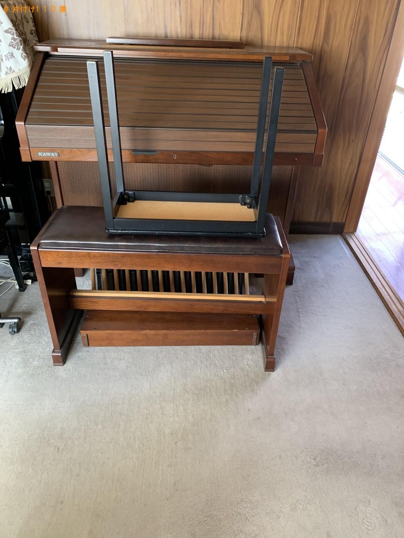 【近江八幡市】エレクトーン、本棚、テレビの回収・処分 お客様の声