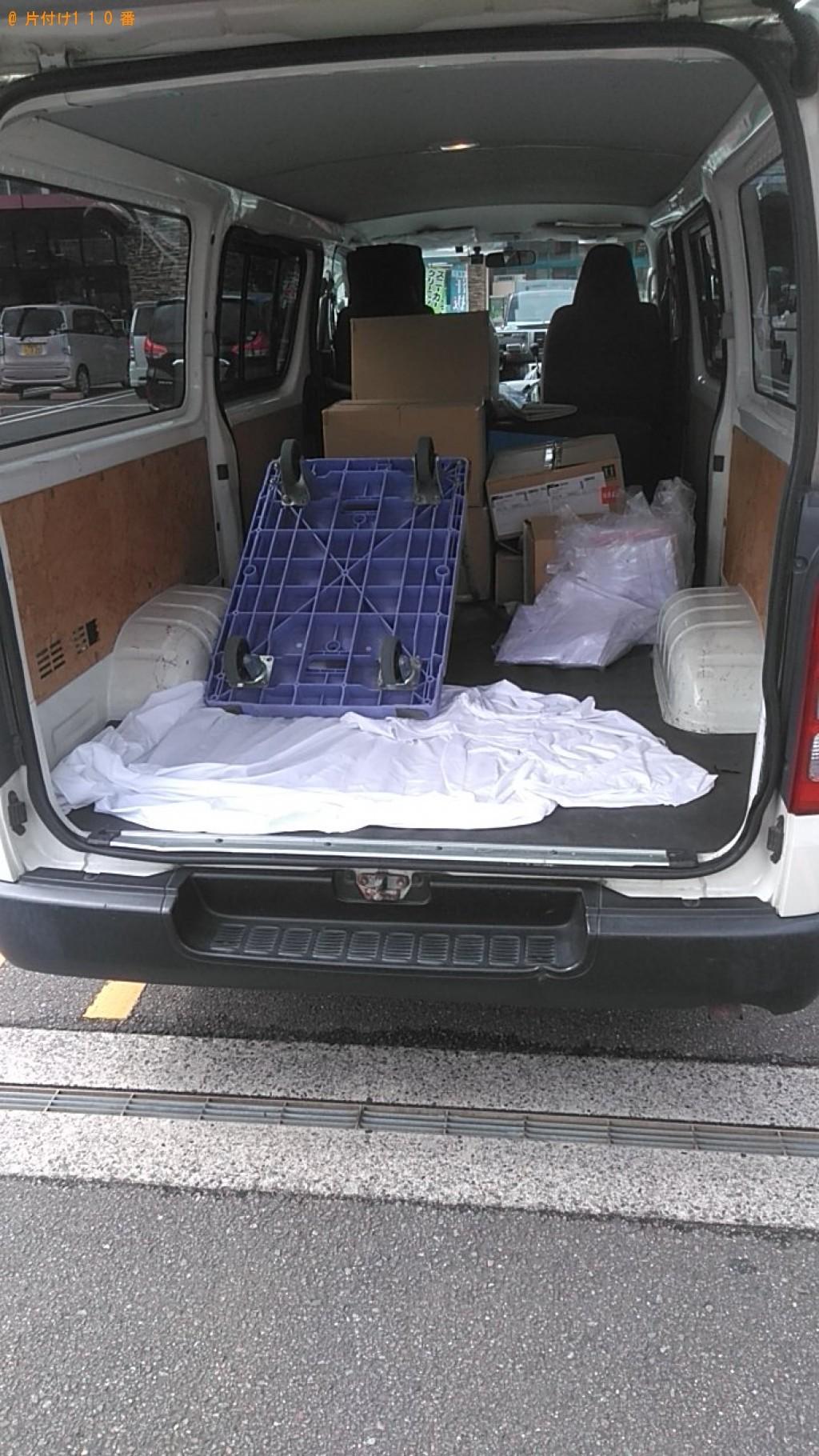 【松山市】ウレタンマットレスの回収・処分 お客様の声