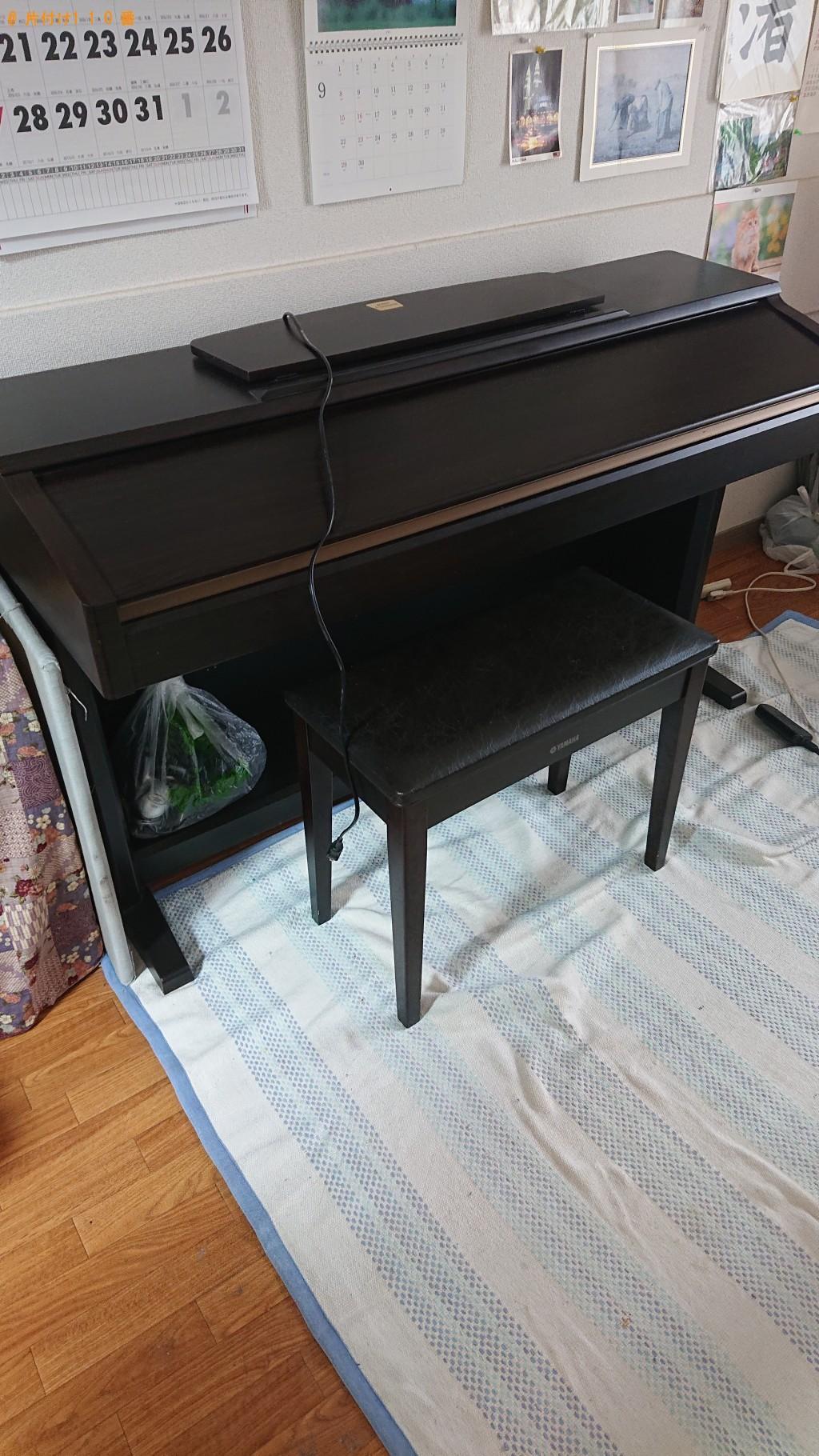 【伊丹市】電子ピアノ1点の回収・処分 お客様の声