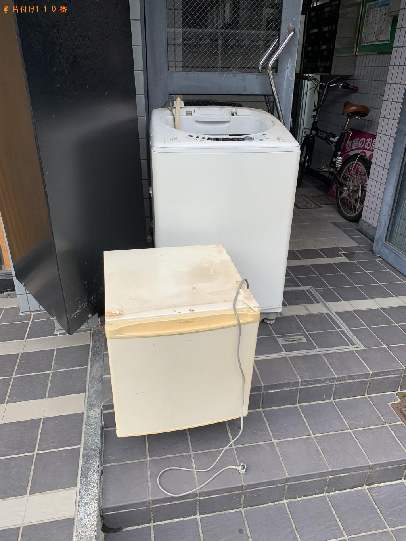 【大津市京町】洗濯機と冷蔵庫の回収・処分 お客様の声