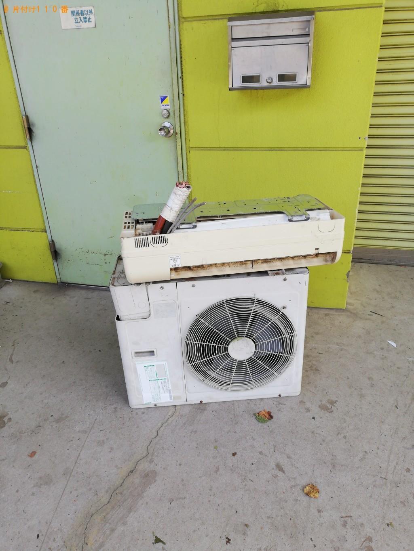 【山陽小野田市】エアコンと室外機の回収・処分 お客様の声