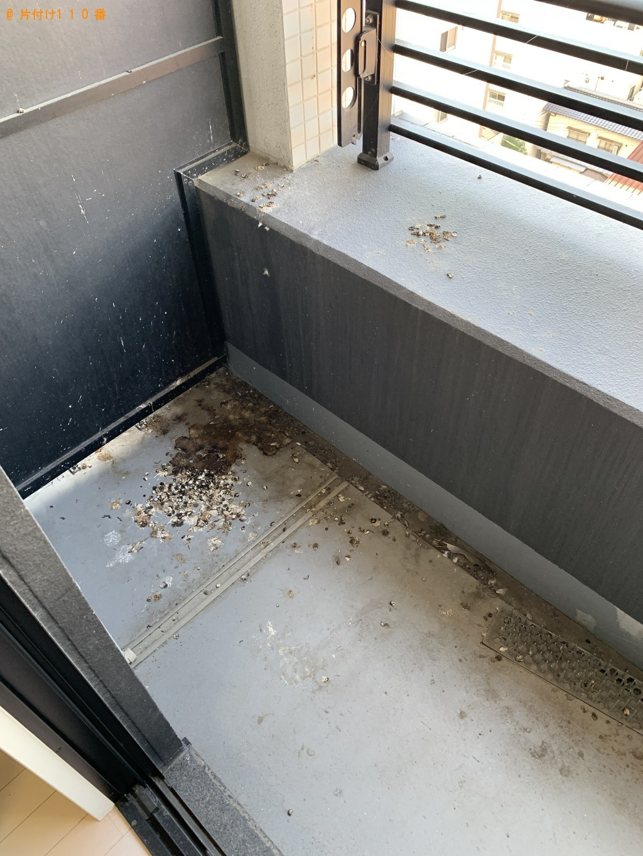 【福岡市博多区】ベランダの清掃ご依頼 お客様の声