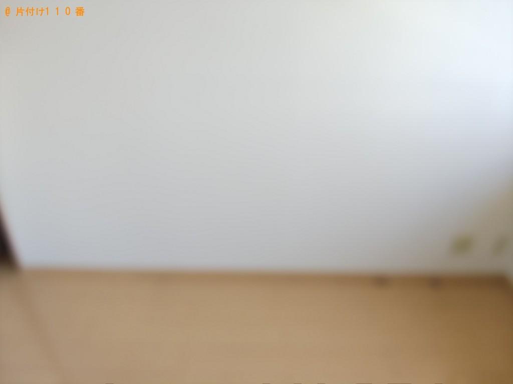 【福山市沖野上町】セミダブルベッド回収処分のご依頼 お客様の声
