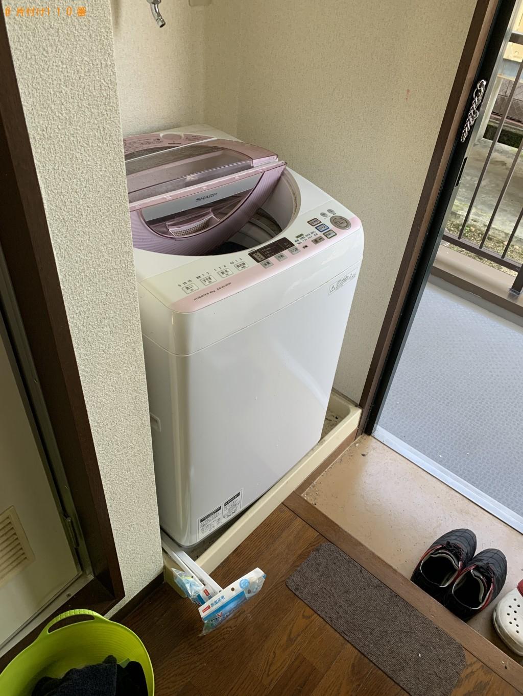【大津市】シングルベッド、冷蔵庫、洗濯機等の回収・処分 お客様の声