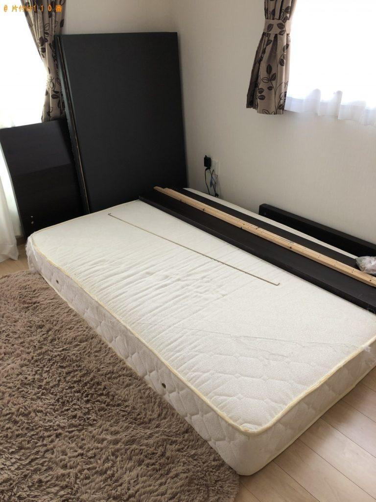 【京都市右京区】空気清浄機、ベッド等の処分ご依頼 お客様の声