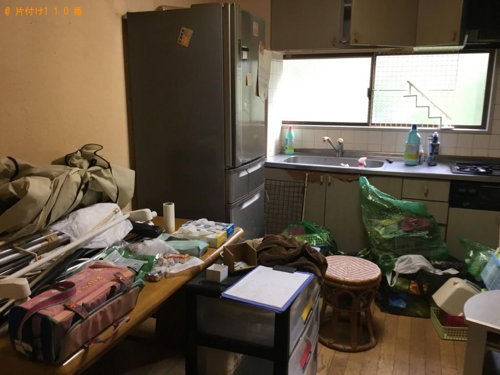 【尼崎市西大物町】冷蔵庫やテーブルなど2t車分の回収 お客様の声