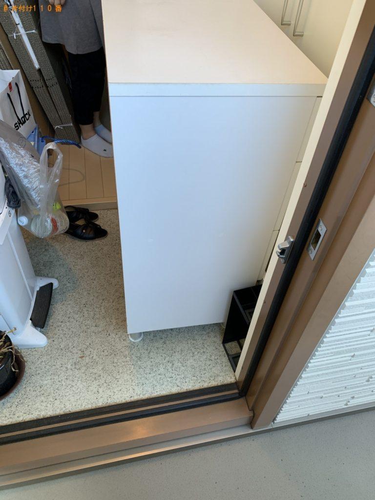 【京都市左京区】クローゼットの回収・処分 ご依頼 お客様の声