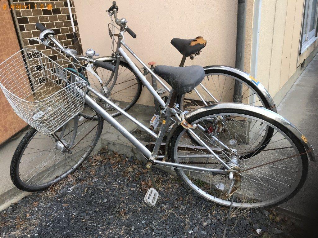 【一関市】自転車の出張不用品回収・処分ご依頼