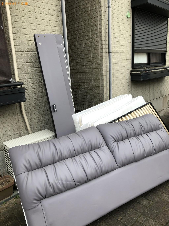 【北九州市小倉南区】クイーンベッドの回収・処分 お客様の声