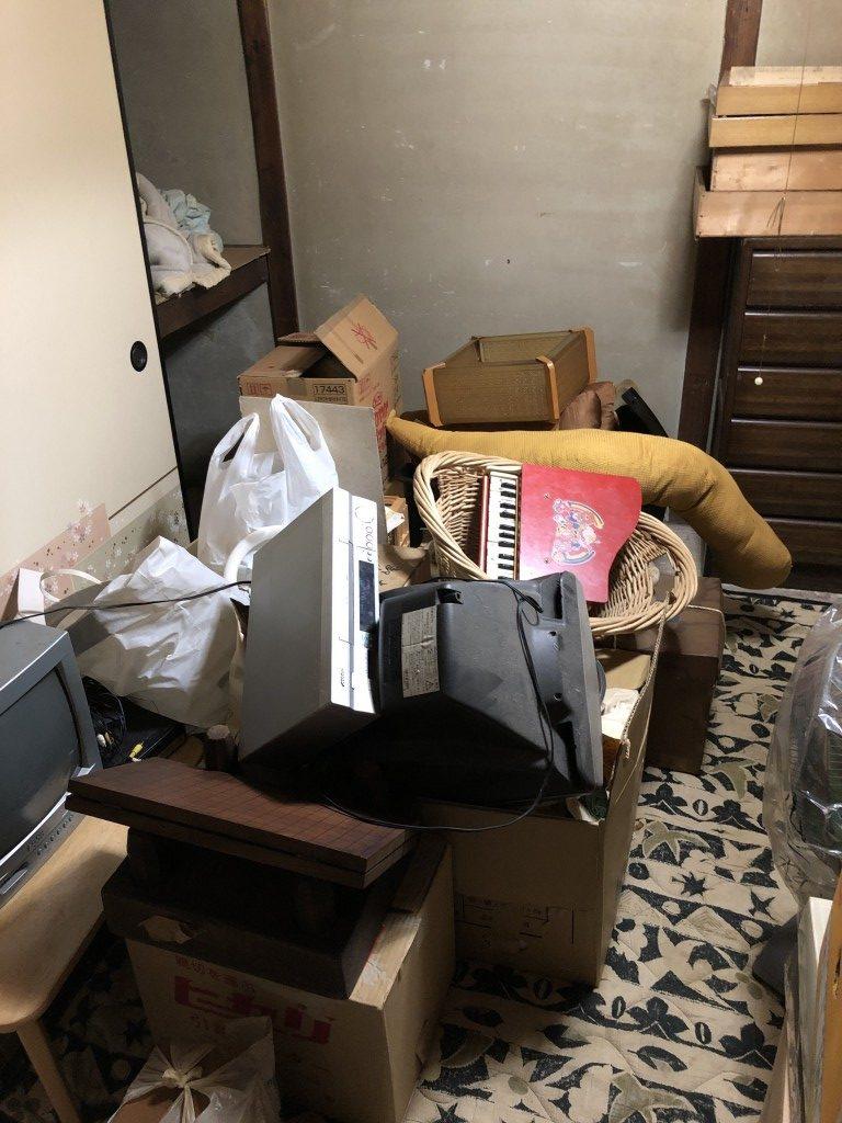 【姫路市日出町】家財道具や不用品一式回収のご依頼 お客様の声