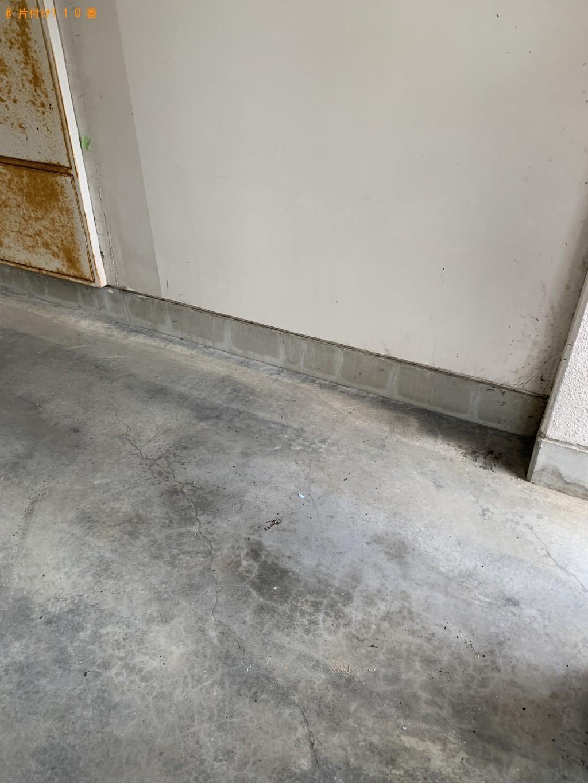【栗東市】掃除機、ベッド枠、カーペットの回収・処分 お客様の声