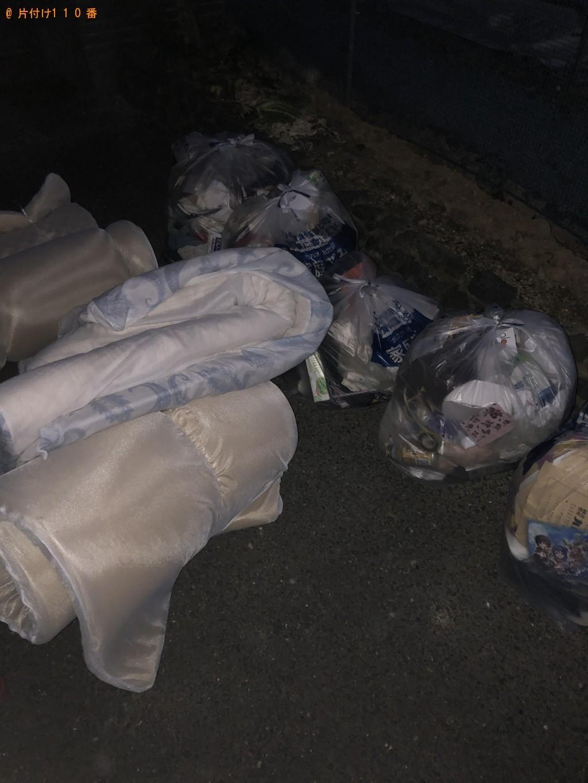【北九州市若松区】衣類、、布団、雑貨などの回収・処分 お客様の声